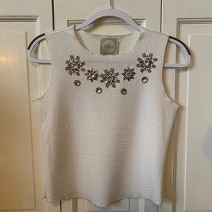 Blouse with gems